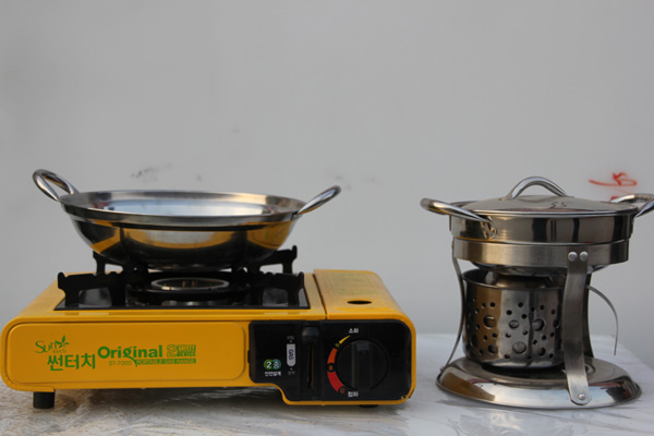 铁桶自制改造柴火炉
